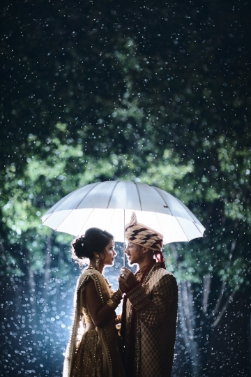 Rain Day Wedding