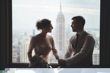 Empire State Building Wedding