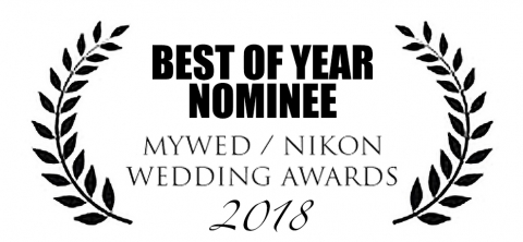"""Mywed """"Best photos of the year"""" 2018 nominee"""