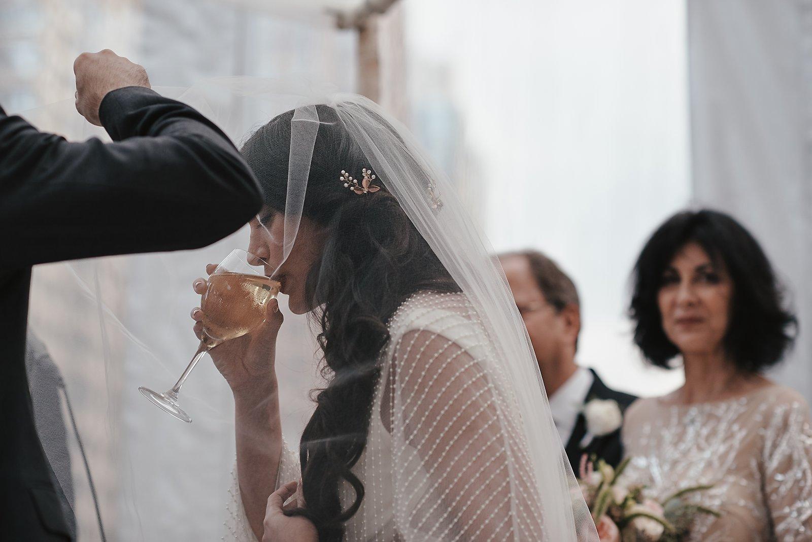 wedding ceremony in kimpton eventi hotel new york